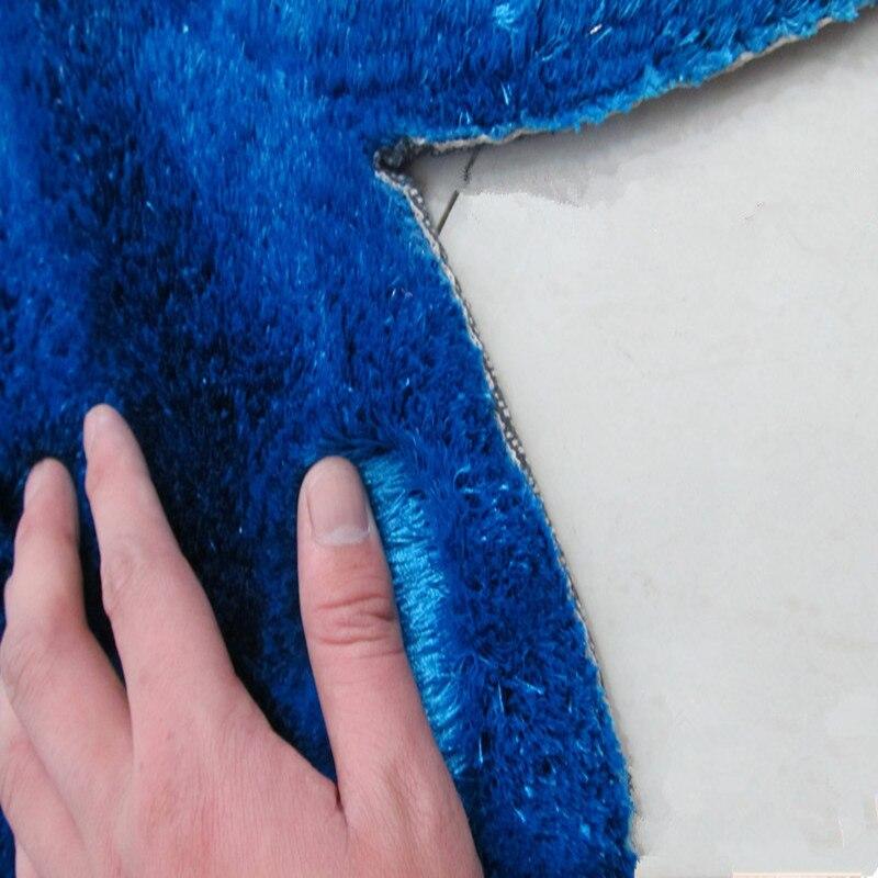 Nouveau tapis créatif en forme de fleur Europe 3D Double Rose tapis pour décorer salon chambre délicate tapis doux personnel - 4