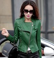 Leather jacket women 2017 new fashion leather coat women short slim motorcycle leather clothing female outerwear  Z926