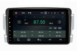 Image 4 - 옥타 코어 안 드 로이드 10.0 자동차 DVD GPS 플레이어 메르세데스 벤츠 W209 W203 M/ML W163 Viano W639 Vito Raido 스테레오 BT 4 + 32GB Wifi DAB +