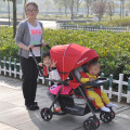 Light Twins Baby Stroller With Front And Rear Seats, Twins Stroller, Stroller Twins, Double Stroller, Super Shock Baby Trolley
