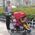 Luz Gêmeos Carrinho De Bebê Com Assentos Dianteiros E Traseiros, gêmeos Carrinho De Criança, Gêmeos carrinho de criança, duplo Carrinho De Criança, Super Choque Carrinho de Bebê