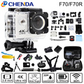 Action Camera F70/F70R 4K 30FPS Wifi Ultra HD 16MP 30M Waterproof Mini Cam go Extreme pro Sports Camera