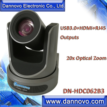 DANNOVO HD USB3.0 HDMI RJ45 IP Video Conference Camera 20x Zoom, Plug and Play, Powerful PTZ Camera(DN-HDC062B3)