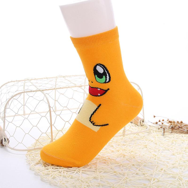 top vente pokemon cartoon chaussettes de haute qualit 5 couleurs disponibles chaud pokemon mignon chaussettes