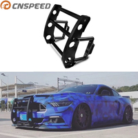 CNSPEED Car Auto Front Bumper For 2015 2017 Ford Mustang Protect bumper with Bolt Nut Black color YC101372