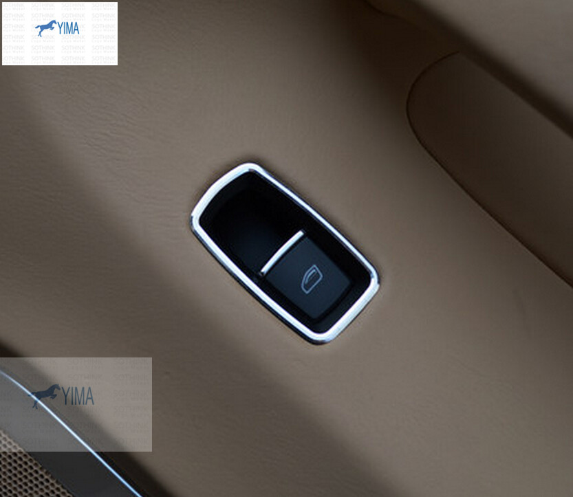 For Porsche Panamera 2014-2016 / Macan Metal Window Lift Switch Mirror Control Button panel Cover Trim футболка рингер printio life cogwheel