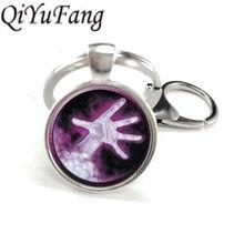 d9df98ce9d32 QiYuFang colgante Wow mundo de Warcraft llavero regalos para amigo juego  llaveros colgante hombres(China