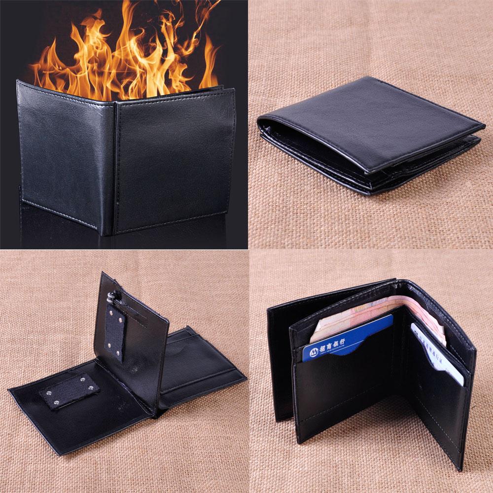 b0bcd0be9f9 Magic Trick Flame Fire Wallet Magician Trick Wallet Stage Street Magic Prop  Trick Performance Pranks Jokes
