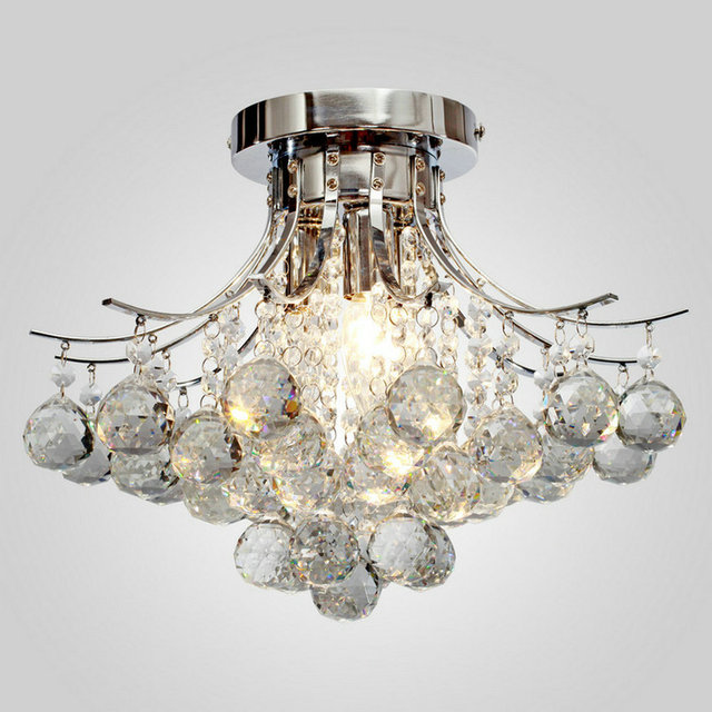 MAMEI MAMEI Free Shipping 110-240V Comtemporary K9 Crystal Ceiling Light Bedroom Light  From Manufacture Sales In Fast Delivery