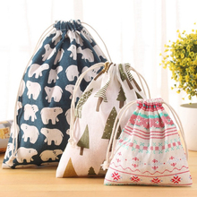 Fashion 1PC Hot High Quality Soft Hedgehog Whale Bear Storage Bags Traveling Pouch Home Organizer S M L