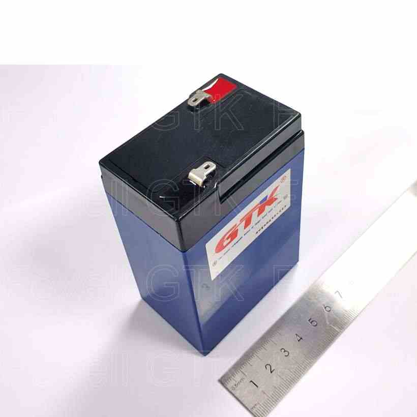 Lifepo4 battery 6v 4 5 Ah 6 Volt AGM Toy Ride-On Battery Premium replace  6Ah 7Ah 7 3v 7 2v for solar small box led Lights lamps
