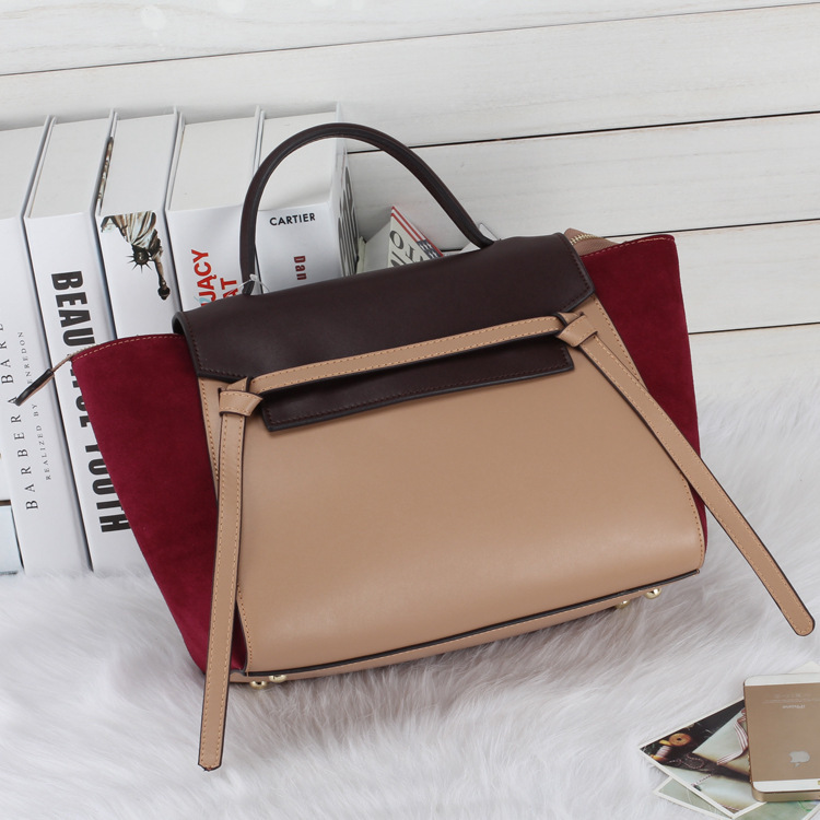Women Patchwork Handbag Genuine Leather Trapeze Bolsas Cowhide Leather Shoulder Bag Fashion Crossbody Bag Women Messenger Bags luxury genuine leather bag fashion brand designer women handbag cowhide leather shoulder composite bag casual totes