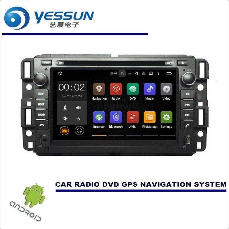 Yessun для Buick Enclave 2007 ~ 2014 wince/Android автомобиля Нави радио media Navi карта nav CD, DVD, GPS стерео проигрыватель
