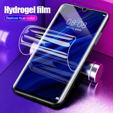 9D Full Cover Hydrogel Protective Film For Oneplus 6T 7 Pro One Plus 6 T 7 Front Screen Protective Soft Film No Tempered Glass