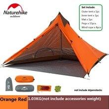 NatureHike Ультралегкая минарета для палатки, нескладывающегося навеса для походов на открытом воздухе, альпинистская двойная непромокаемая кемпинговая палатка