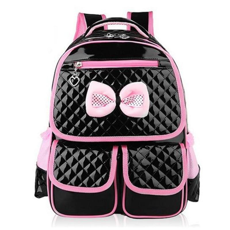 Lovely princess girls bag elementary student density School bag Water proof han edition children backpack School bag