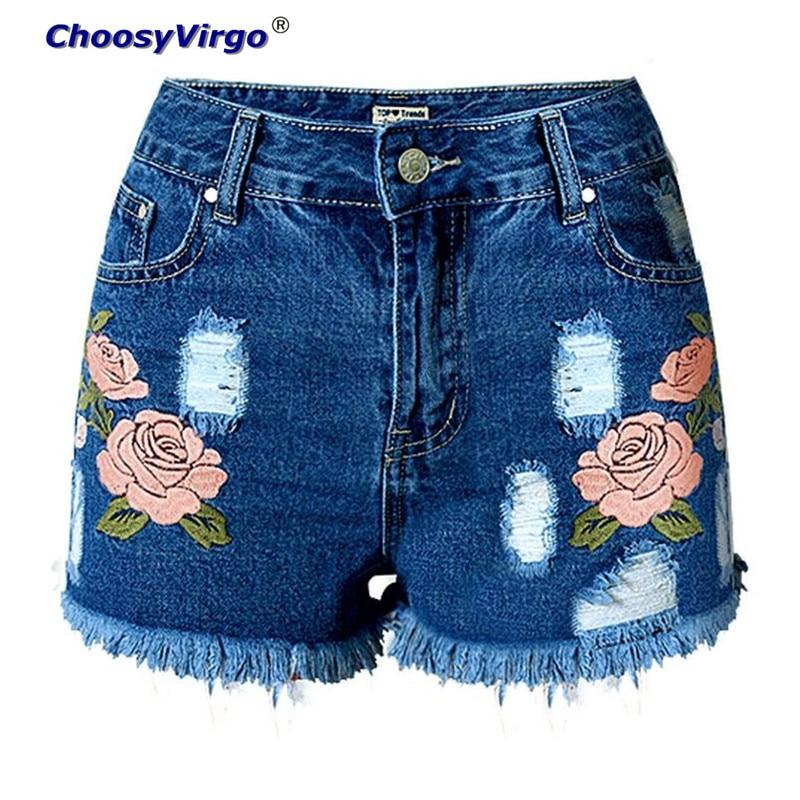 Online Get Cheap Womens Shorts Jeans Flower -Aliexpress.com ...