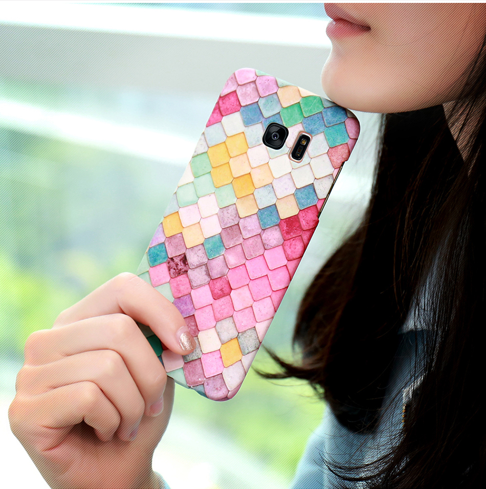 3D Scales Colorful Case For Phone 6 5 6S 7 Plus  (10)