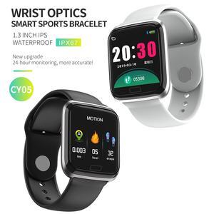 Image 2 - NAIKU CY05 Smart Watch Bracelet Ports Waterproof Fitness Heart Rate Blood Health Monitoring Pressure Health Step Remote Watch