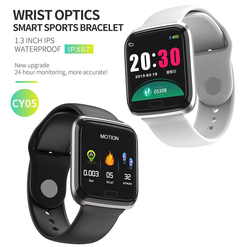 Image 2 - NAIKU CY05 Смарт часы, браслет, порты, водонепроницаемый, фитнес, пульс, Мониторинг Артериального здоровья, давление, здоровье, шаг, удаленный просмотр-in Смарт-браслеты from Бытовая электроника