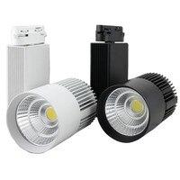 30W LED Track Light Rail Spot Rail Tracks Shoe Clothes Shop Store Mall Lamp Showroom Spotlights Exhibition Lighting