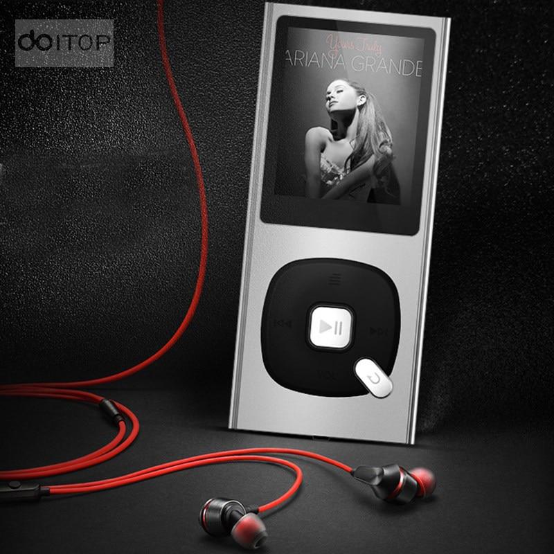 Doitop X28 Mini Lossless Hifi Mp3 Musik Player Eingebauter Lautsprecher 1,5 Zoll Video Spielen Unterstützung Aufnahme Tf Karte Fm Stimme E-book A3 Hifi-geräte Unterhaltungselektronik