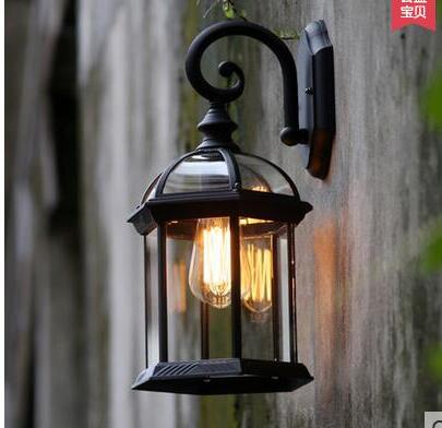 Popular antique outdoor lighting buy cheap antique outdoor - Lamparas porche exterior ...