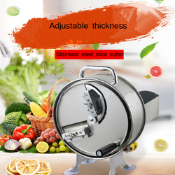 Commercial  Manual Home Stainless Steel Slicer  Shredder Vegetable and Fruit Cutter Kitchen Tool