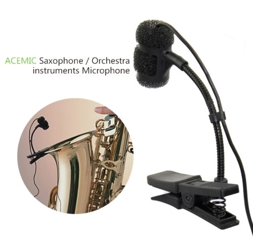 ACEMIC ST 30 professional Wired Saxophone Trumpet Microphone instrument microphone High Fidelity Voice optional connectors