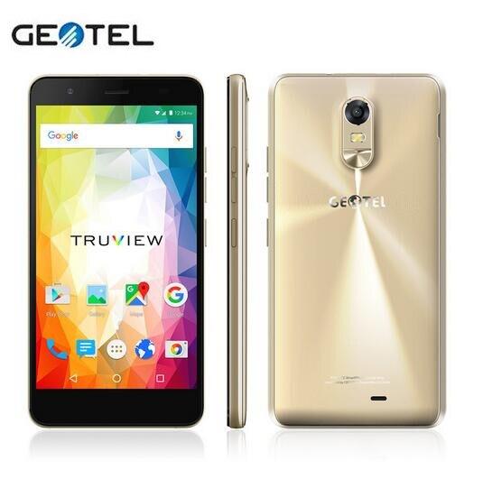 5.5 Inch GEOTEL Note 4G <font><b>Smartphone</b></font> <font><b>3GB</b></font> <font><b>RAM</b></font> 16GB ROM 3200mAh Big Battery Mobile Phone MTK6737 Quad Core 8MP OTA Dual Sim Celular
