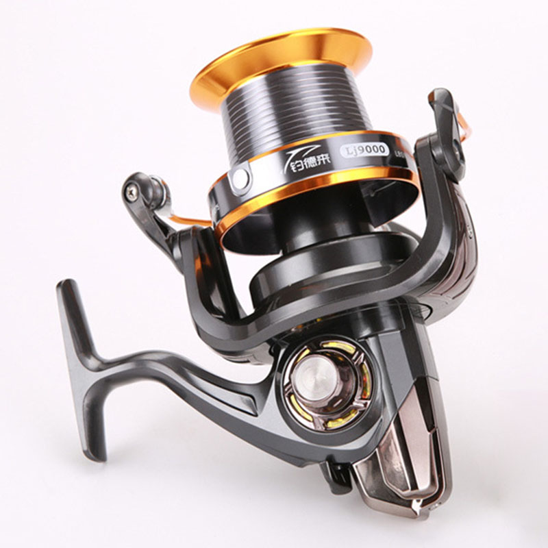 FDDL New Big Sea Spinning Fishing Reel Full Metal Spool Sea fishing Ocean Long Shot wheel 12+1 Ball Bearings Fishing tackle карандаши tony moly my school looks multi color pencil 06