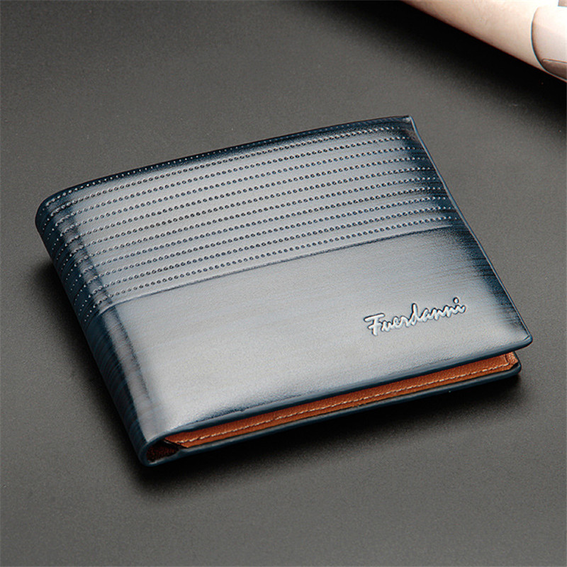 HTB1XfbfkOOYBuNjSsD4q6zSkFXaG Top 2019 Vintage Men Leather Brand Luxury Wallet Short Slim Male Purses Money Clip Credit Card Dollar Price Portomonee Carteria