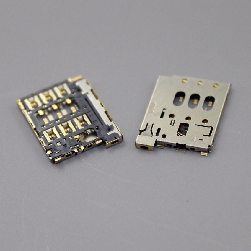 ChengHaoRan 5pcs/lot New For HTC Desire 610 610T 610N Sim Card Reader Connector Socket Slot Repair Replacement Part,KA-137