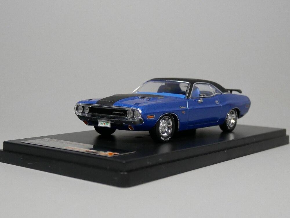 PREMIUM X 1:43 DODGE CHALLENGER R/T 1970 (Blue) Diecast model car цена