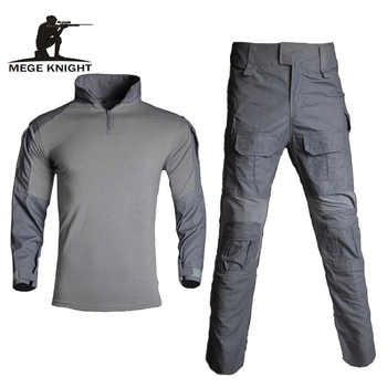Mege Tactical Suit Military Equipment Camouflage US Army Combat Battle Clothing Navy Seal Camisa Farda Militar Women's Gear - DISCOUNT ITEM  41% OFF All Category