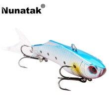 Nunatak  SK030 Vibration Fishing Lure 1 PC Plastic Ratil VIB Bait 17.8g 75mm Sinking 3D Lure Simulation Eyes  Packing Box
