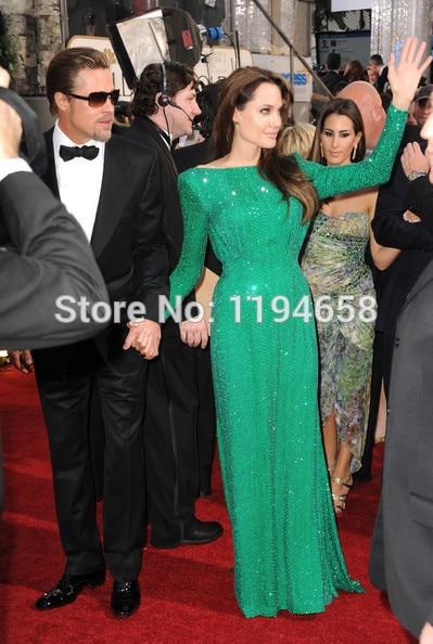 verschiffen Jolie Pailletten Sexy Grünes Freies Nach Maß Angelina 3K1uJTlFc5