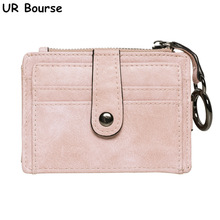 UR BOURSE Womens Card Package Female Multi-functional Wallet Ladies Multi-card Ultra-thin Coin Purse Credit Holder