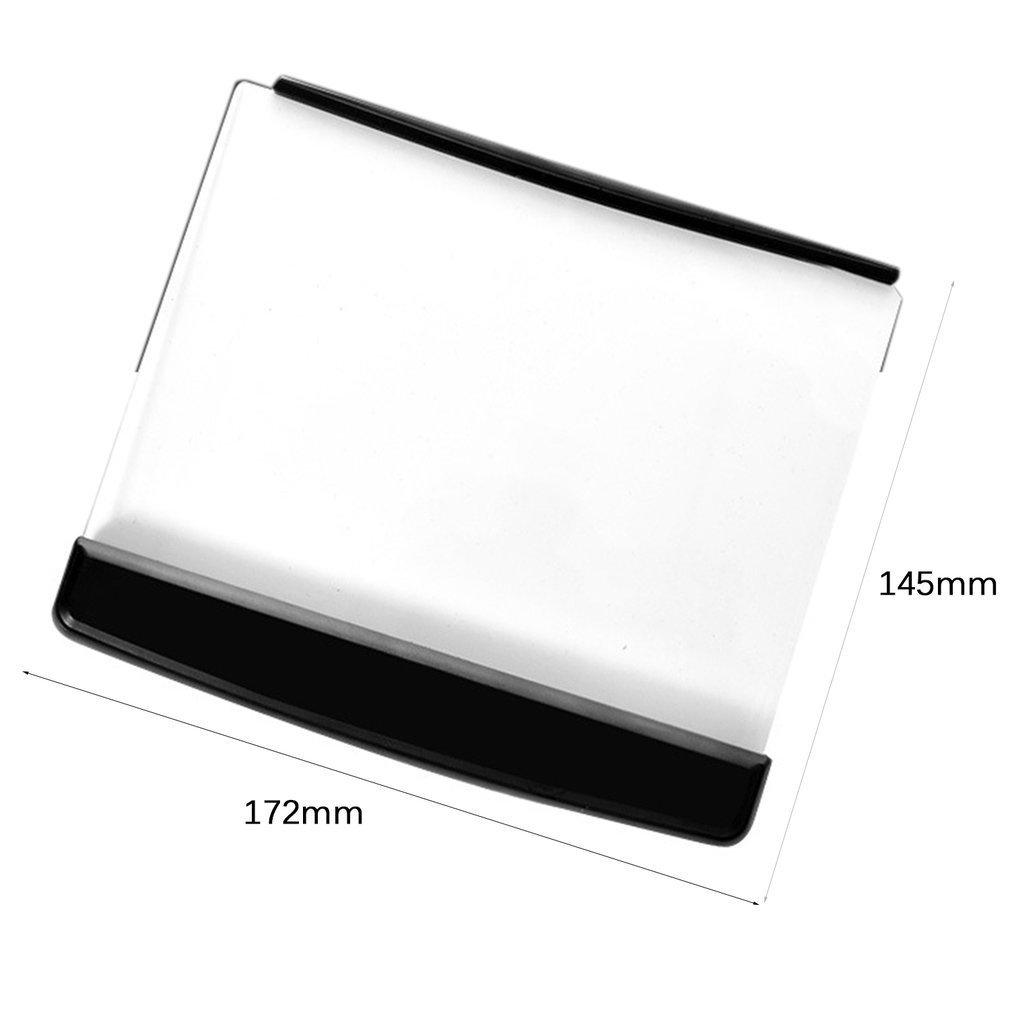 Portable Ultra thin Flat Plate Panel Reading Light Students Night Vision Light Eye Protect Battery Plastic Book Light Lamp in LED Panel Lights from Lights Lighting