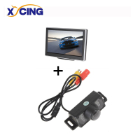 800 X 480 Pixel 5 Inch Car Monitor HD Digital Panel Parking Monitor E350 Car Rear