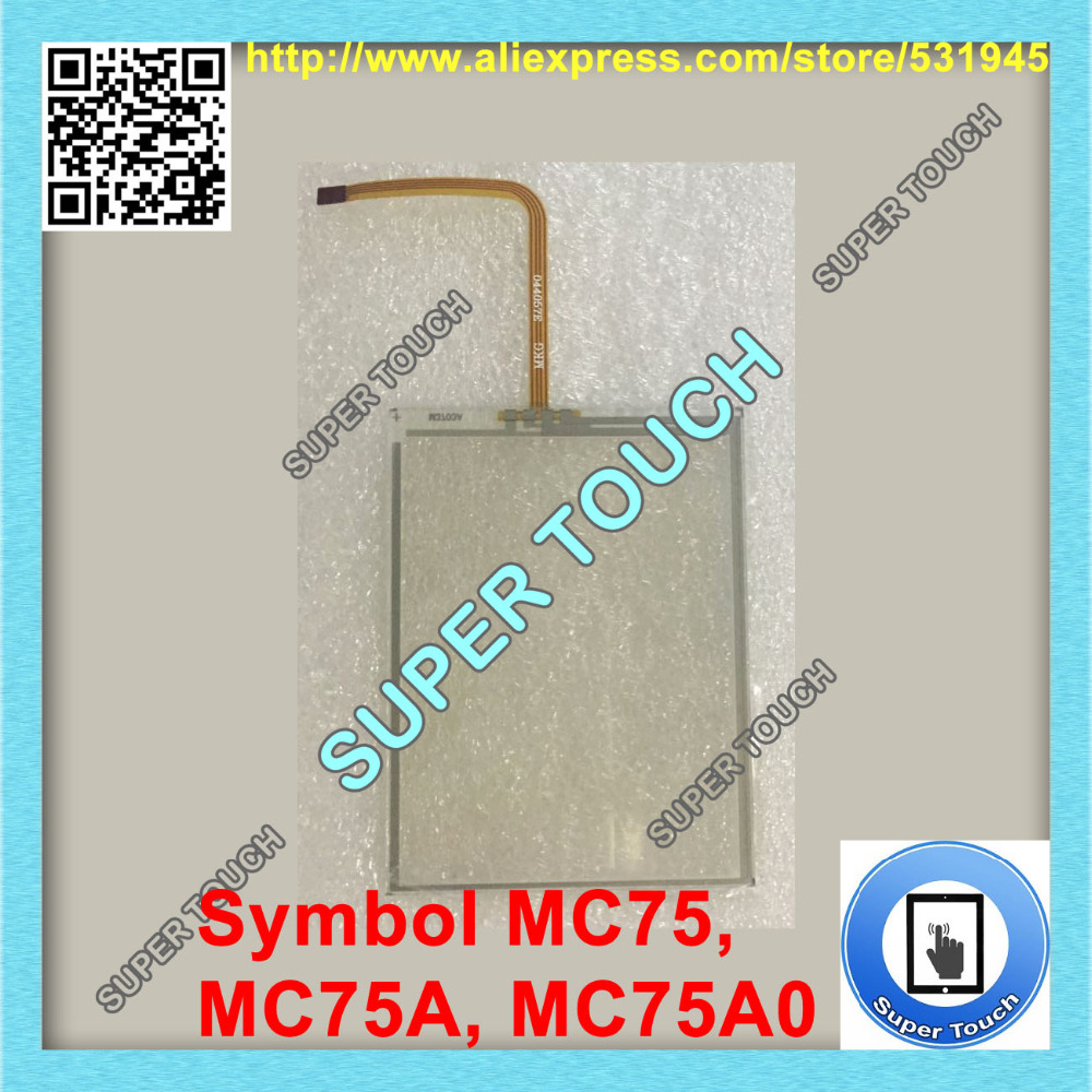 $12 @x100 pcs/Lot (Total:$1200) Symbol MC75, MC75A, MC75A0 Digitizer Touch Screen Touch panel, barcode scanner,Free Shipping