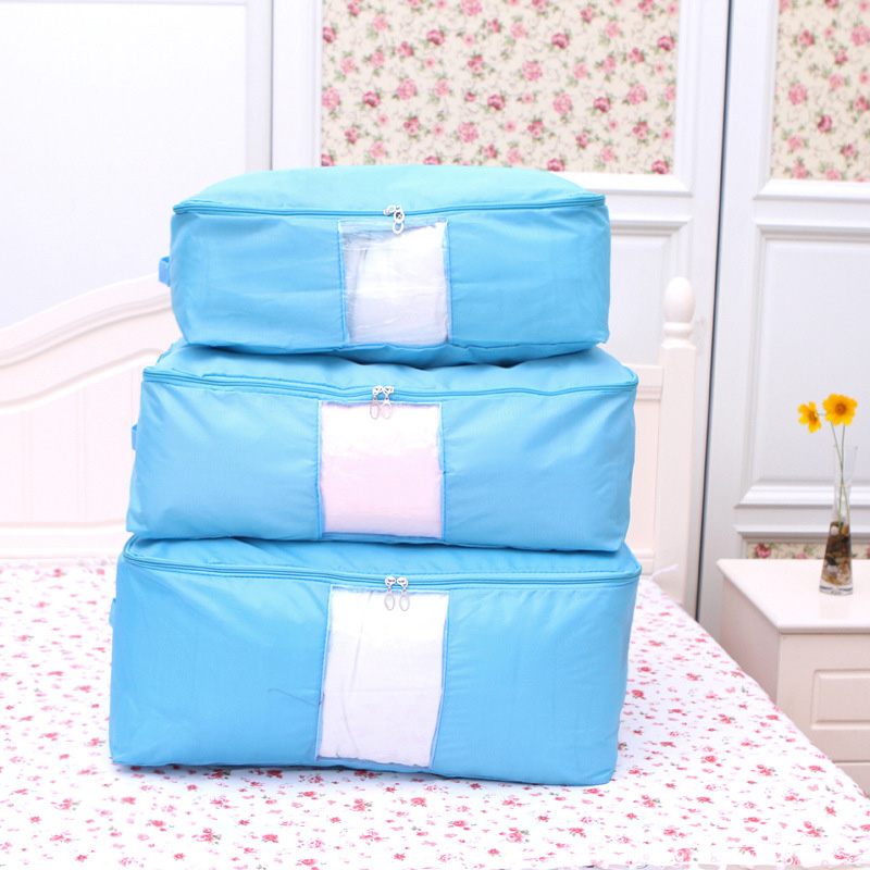 Oxford Quilt Storage Bag Collapsible Plus Size Comforter Container Home  Storage Organizer Blanket Clothing Storage Bags In Storage Bags From Home U0026  Garden ...