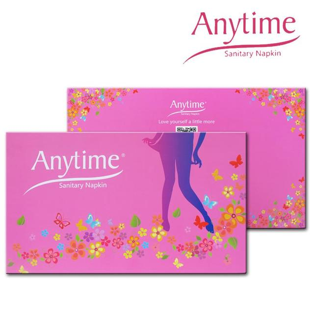 4 Gift Sets Sanitary Napkin Women Feminine Hygiene Anion Cotton Sanitary Napkin Medicated Lady Sanitary Pad