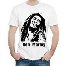 Men's T-Shirt with Bob Marley Print