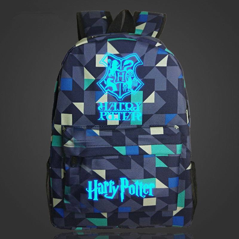 Free Shipping Harry Potter Hogwarts Anime Backpack Luminous Printing School Bags For Teenager Mochila Backpacks men backpack student school bag for teenager boys large capacity trip backpacks laptop backpack for 15 inches mochila masculina