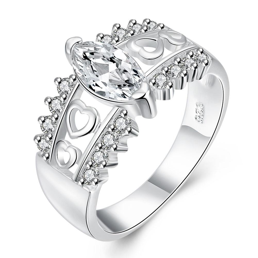 Meilleur Vente 925 Sterling Argent CZ Femme Homme Anneaux Bijoux Pour  Cadeau De Mariage De Fiançailles Top Qualité Le Plus Bas Prix f47626204126