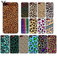 Yinuoda Fashion Tiger Printed Leopard Panther Novelty Fundas Phone Case Cover for iPhone 5 5Sx 6 7 7plus 8 8Plus X XS MAX XR