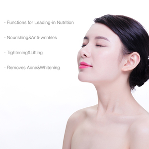 Image 2 - 5 ב 1 RF EMS LED פוטון פנים הרמת יופי לעיסוי מזותרפיה Electroporation רדיו תדר פנים עור להדק מכונת