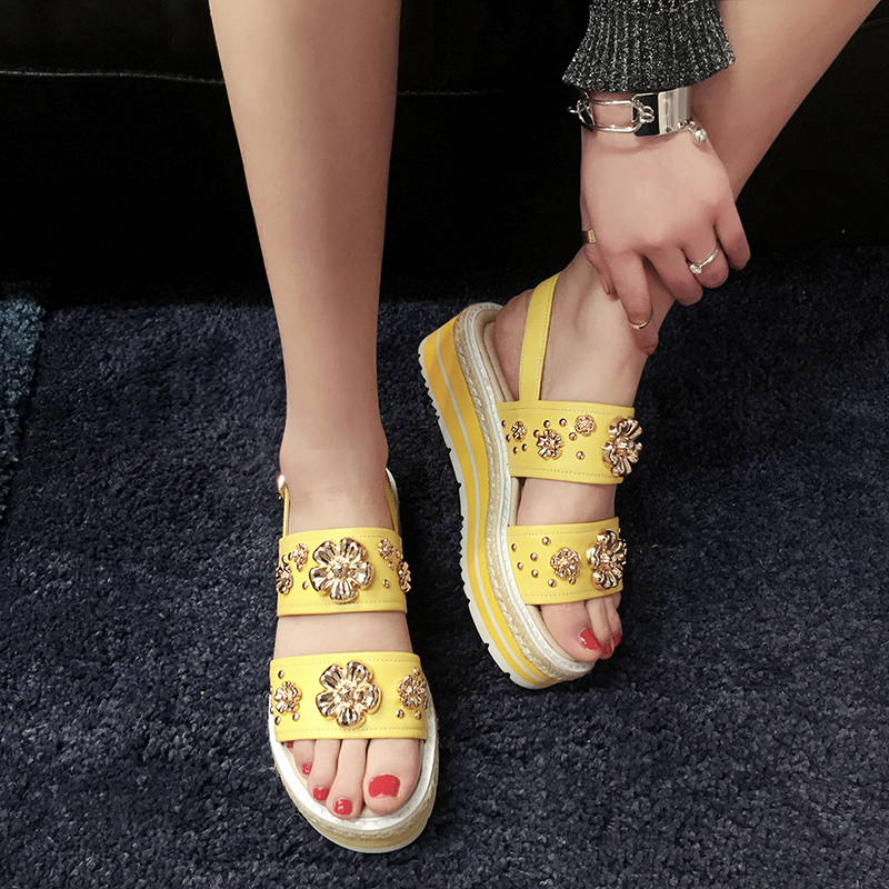 Sexy yellow soles