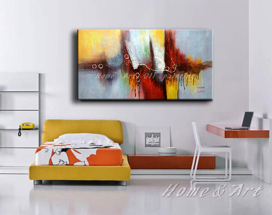 Us 28 0 Free Shipping Hand Painted Canvas Wall Art Acrylic Abstract Oil Painting Home Decoration Modern Art Wall Picture In Painting Calligraphy